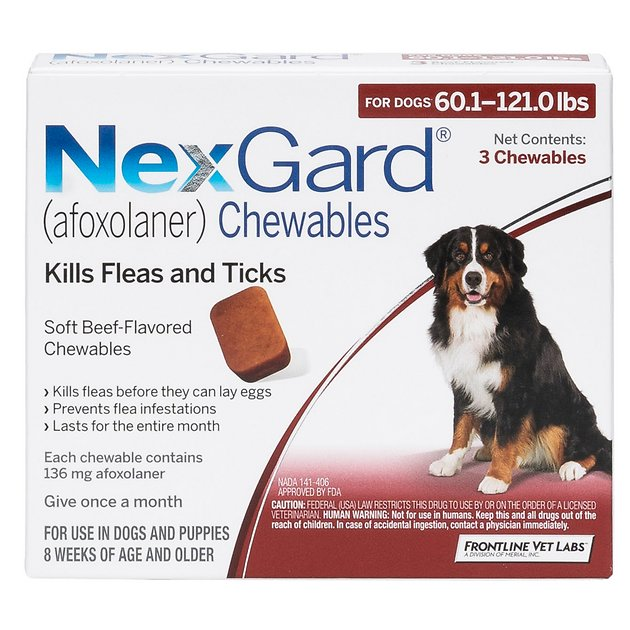 Nexgard kills ticks and flees